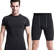 Course Ensemble de Vêtements/Tenus Homme Séchage rapide / Anti-transpiration Course Sportif Vêtements de sportBlanc / Vert / Rouge / Gris