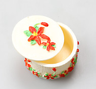 Flower Skirt Round Box Resin Jewelry Box Chocolate Silicone Molds,Decoration Tools Bakeware