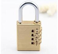 Luggage LockForLuggage Accessory Metal Gold 8.5*3.8*1.3