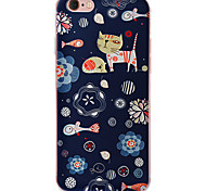 cas tpu souple avec motif d'impression 3d 6s iphone 6 / iphone / 6s iphone 6 plus en plus / iphone chat