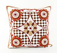 Fresh Style Fashion Pattern Cotton Pillowcase  Home Decor pillow Cover (18*18inch)