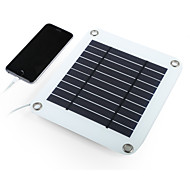 5W 5V salida USB cargador plegable del panel solar