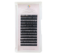 South Korean Imports Silk Protein  Grafting Eyelash 11mm  / Eyelash Natural Long Extended