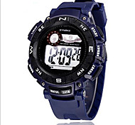 SYNOKE Men's Sport Watch Wrist watch Digital Watch LCD Calendar Chronograph Water Resistant / Water Proof Alarm Luminous Digital Rubber