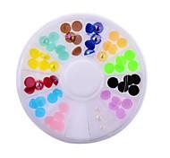 Fashion Women Colorful Nail Art Rhinestones Decoration For UV Gel Phone Laptop DIY Nail Tools