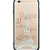 iPhone 6s Plus/6/iPhone 6s/6 Writing TPU Soft Back Cover