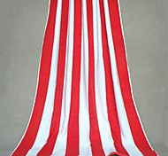 "Well Designed Striped Full Cotton Bath Towel 70.8"" by 35.4"""