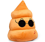 peluche creativi nuovi regali sconosciuti grandi lotte cuscino sterco grasso bambola-20cm, occhiali da sole, con ventose