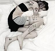 2 Временные тату Тату со стразами / Тату с животными / Тату с цветами / Тату с тотемом / мультфильм серииNon Toxic / С рисунком / Большой