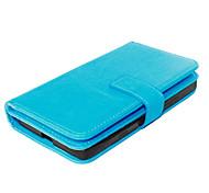 pu étui en cuir couverture du livre cadre photo de portefeuille pour nokia lumia 930 fous de couverture de grain de cheval avec 9