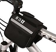 Bolsa para Quadro de Bicicleta / Bolsa de CiclismoZíper á Prova-de-Água / Á Prova de Humidade / Camurça de Vaca á Prova-de-Choque /
