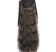 Black Deep Wave Lace Wig Corn Hot Ponytails 8