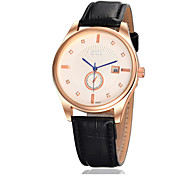 Men Belt Calendar Waterproof Quartz Watch Cool Watch Unique Watch
