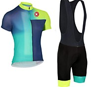 KEIYUEM Bike/Cycling Clothing Sets/Suits Unisex Short SleeveBreathable / Quick Dry / Dust Proof / Wearable / Compression / Back Pocket /