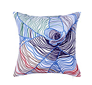 Polyester Pillow With Insert,Graphic Prints Modern/Contemporary 18x18 inch