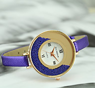 Women's European Style Fashion New Quicksand Casual Wrist Watch