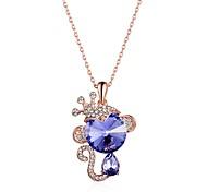 Or Rose Pendentif de collier Rose Plaqué Or Mariage / Soirée / Quotidien / Décontracté 1pc Bijoux
