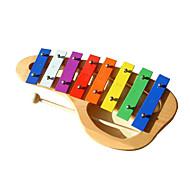 legno pianoforte giallo mano per i bambini tutti gli strumenti musicali giocattolo