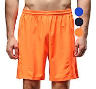 Vansydical Homme Séchage rapide Fitness Bas Bleu / Orange / Bleu royal