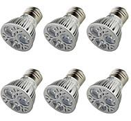 3W E26/E27 LED Spot Lampen A50 3 Hochleistungs - LED 250 lm Warmes Weiß Dekorativ AC 85-265 / AC 220-240 / AC 100-240 / AC 110-130 V6