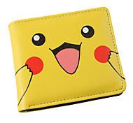 Pokemon Pikachu Yellow PU Leather wallets
