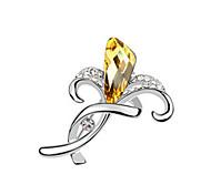 broche de cristal de alta qualidade para senhora festa de casamento