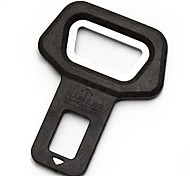 ZIQIAO High Quality Car Safety Belt Clip Car Seat Belt Buckle Vehicle-mounted Bottle Openers Dual-use