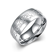 Fashion jewelry 925 silver titanium steel ring Band rings for women wedding  decorative design rings TGR008