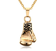 Necklace Pendant Necklaces / Pendants Jewelry Daily / Casual Fashion Titanium Steel Gold 1pc Gift