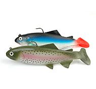 Soft Bait Deep Sea Fish 1pc 137g/19cm Soft Lure Sea Fishing Lure