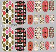 1 PC Nail Art 3D Stickers Glitter Toenails Stickers 22 To Stick Hot Stamping A Series Of