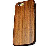 caso di noce di legno protettiva copertura posteriore dura per il iphone iphone 6S plus / iphone 6 6s più / iPhone / iPhone 6