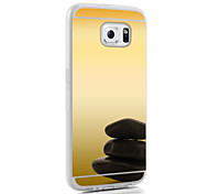 Mirror Ultra Slim Clear Acrylic+TPU Soft Case for Galaxy S3/S4/S5/S6/S6 Edge/S6 Edge Plus
