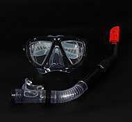 Snorkeling Packages Snorkels Snorkel Set Diving Masks Diving / Snorkeling silicone PVC Black Blue