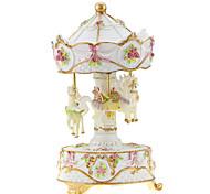 abs pink / gelb / weiß kreative romantische Musik-Box für Geschenk