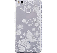Butterfly Pattern PU Material Phone Case for Huawei P9 Lite/P9