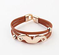 Alloy Bracelet Wrap Bracelets Casual 1pc
