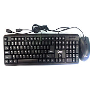 Com Fio USB Teclado & MouseForWindows 2000/XP/Vista/7/Mac OS