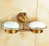Suporte para Escova de Dentes / Gadget de Banheiro Latão Envelhecido De Parede 8.3*3.1*4.5 inch Latão Antigo