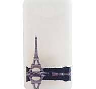 Eiffel Tower Pattern Frosted TPU Material Phone Case for Samsung Galaxy J7/J5/J1