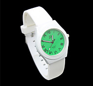 Women's Digital Pointer Silica Strap Cartoon Students Casual Quartz Watches Gift
