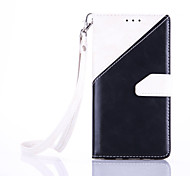 High-End Color Stitching Card Lanyard Phone Holster for Samsung Galaxy A310/A510