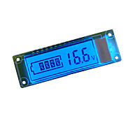 18650 Lithium Battery Power Display LCD Screen With Voltage