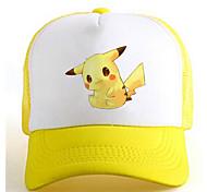 Pocket Little Monster Pika Pika Yellow-White Adjustable Tennis Cap