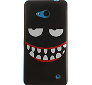 Smiling Face Painting Pattern TPU Soft Case for Microsoft Nokia Lumia 640/535/530/630
