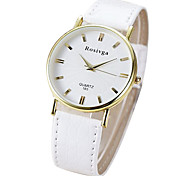 Couple's Casual PU Leather Band Quartz Watch Fashion Watch Cool Watches Unique Watches