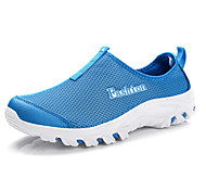Light Blue/Red/Light Grey/Rose Wearproof Rubber Running Shoes for Unisex