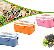 Electric Heating Lunch Box Can Plug Stainless Steel Liner Insulation Boxes Car 12V