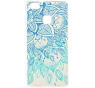 Green Blue Pattern TPU Soft Case Phone Case for Huawei Series Model