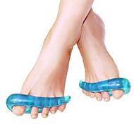 Pé Suporta Manual Acupressão Alivia dores de pernas Cronometragem Silicone